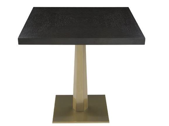Square table LUXOR BAR by Hamilton Conte Paris