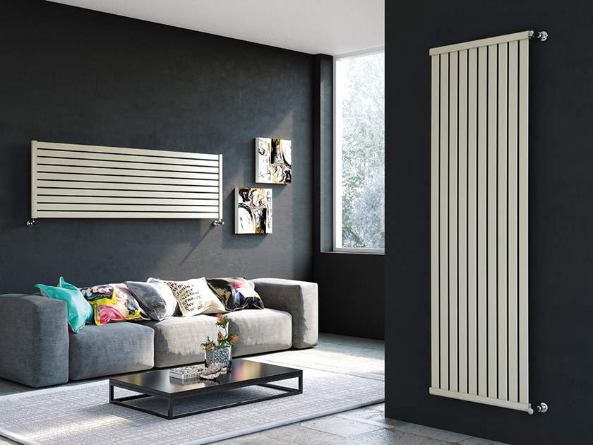 Wall-mounted steel decorative radiator LUXOR PM by XÒ by Metalform