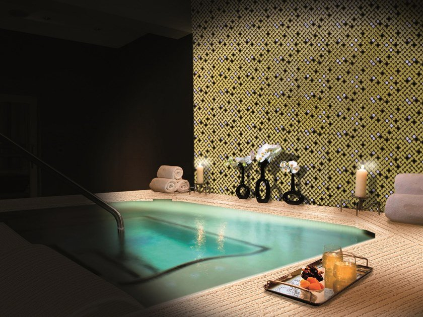 Mosaico in poliuretano per interni ed esterni LUXURY DOTS by MyMosaic