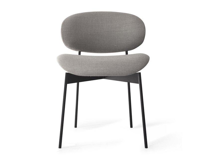 Upholstered fabric chair LUZ   Fabric chair by more