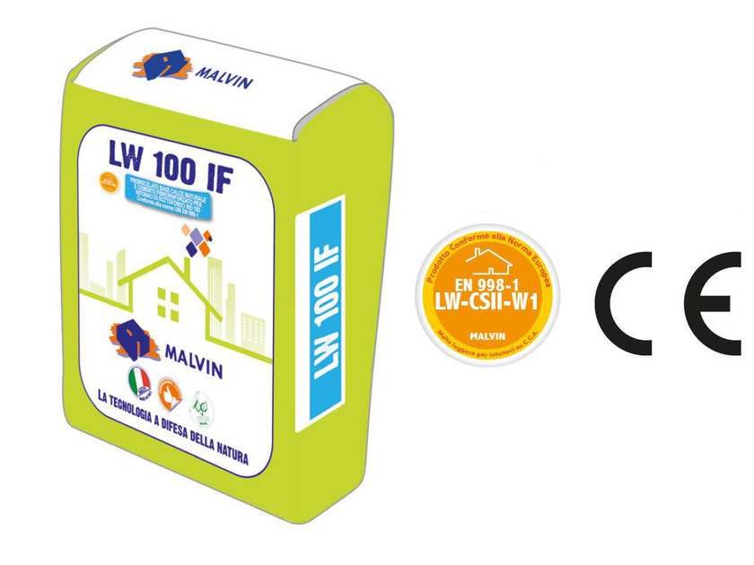 Fibre-reinforced special plaster LW 100 IF by malvin