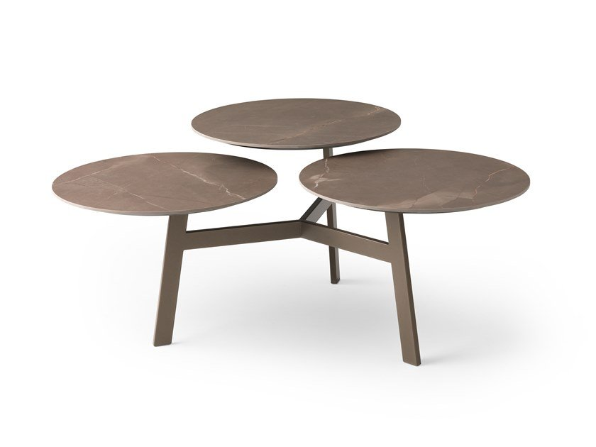 Swivel Ceramic materials coffee table LX628 | Ceramic materials coffee table by LEOLUX LX