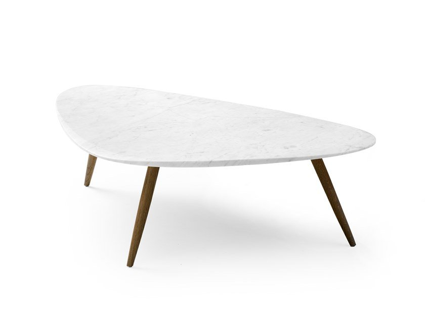 Marble coffee table for living room LX639 | Marble coffee table by LEOLUX LX