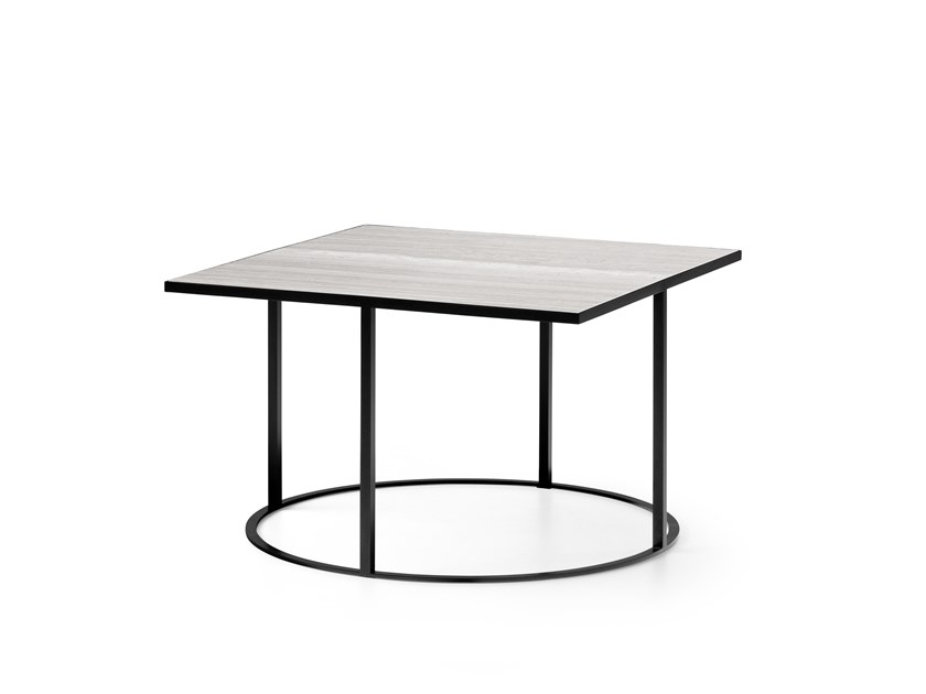 Low square Ceramic materials coffee table LX641 | Square coffee table by LEOLUX LX