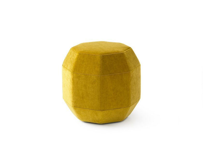 Leather pouf / coffee table LX642   Leather coffee table by LEOLUX LX