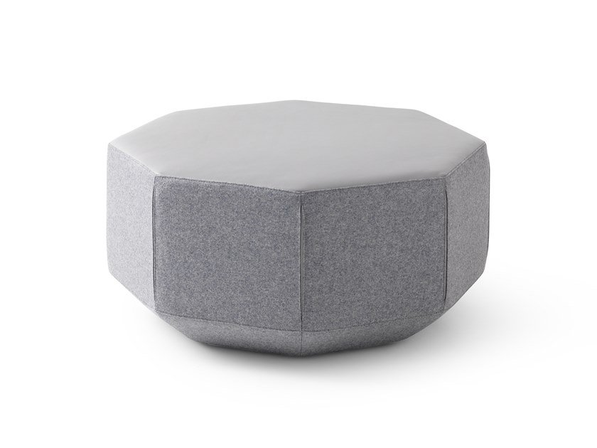 Pouf / coffee table LX642 | Octagonal coffee table by LEOLUX LX