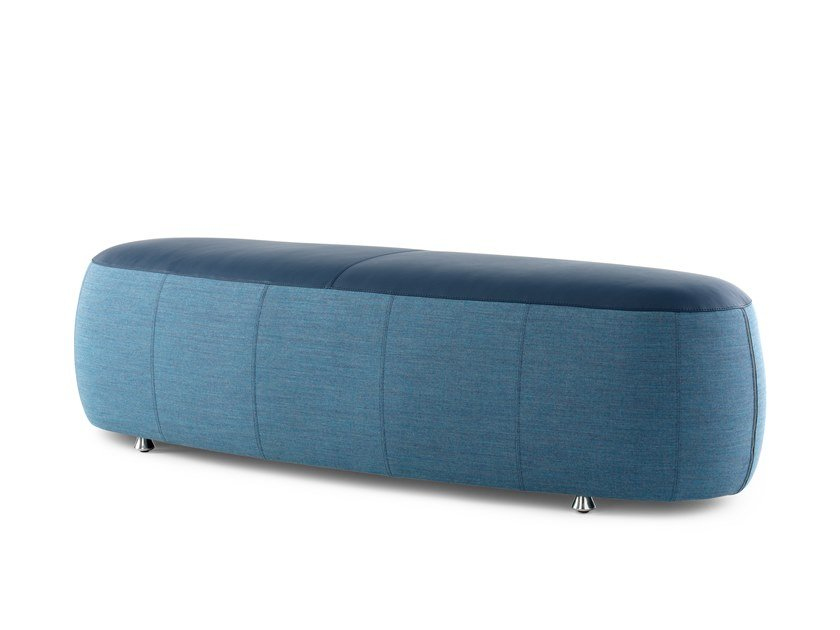 Upholstered fabric bench LX99P | Upholstered bench by LEOLUX LX