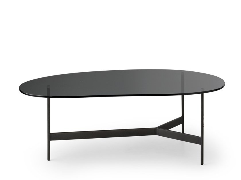 Glass coffee table LXT01 | Glass coffee table by LEOLUX LX