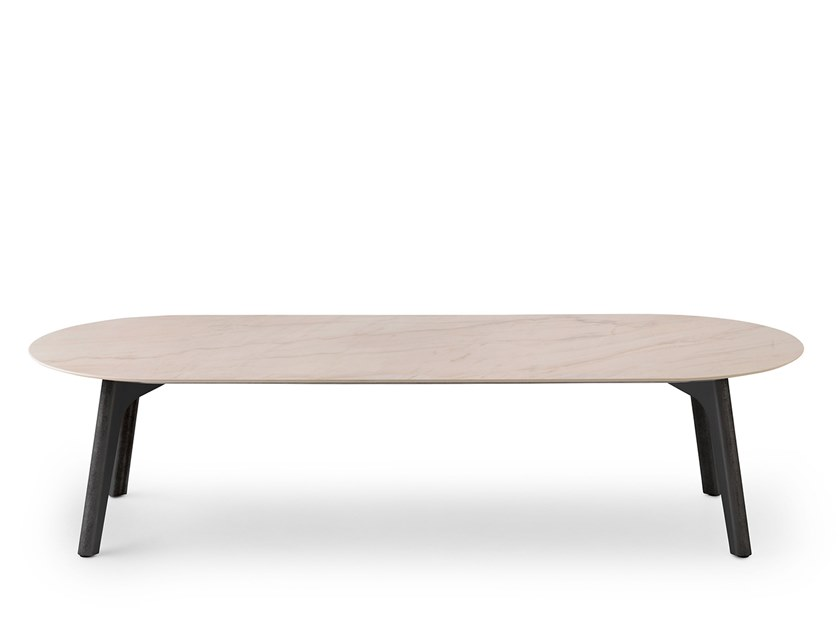Oval ceramic coffee table LXT07 | Oval coffee table by LEOLUX LX