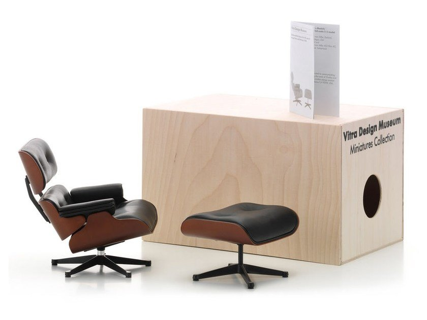 Groovy Vitra Miniatures Lounge Chair Ottoman Short Links Chair Design For Home Short Linksinfo