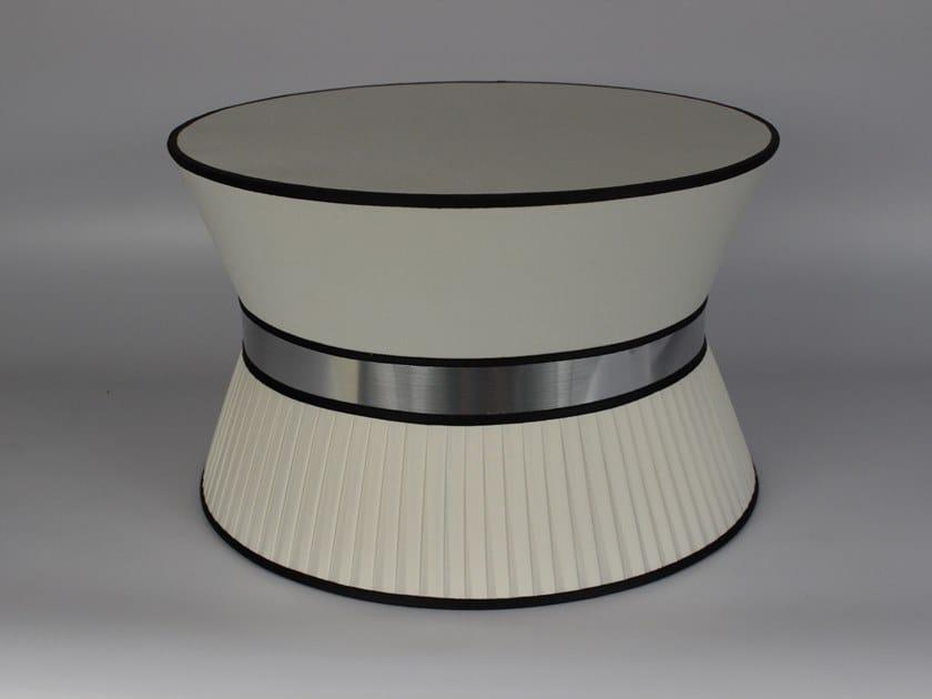Pleated cotton lampshade M002 | Lampshade by Ipsilon PARALUMI