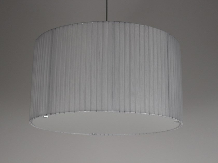 Pleated fabric lampshade M008 | Lampshade by Ipsilon PARALUMI