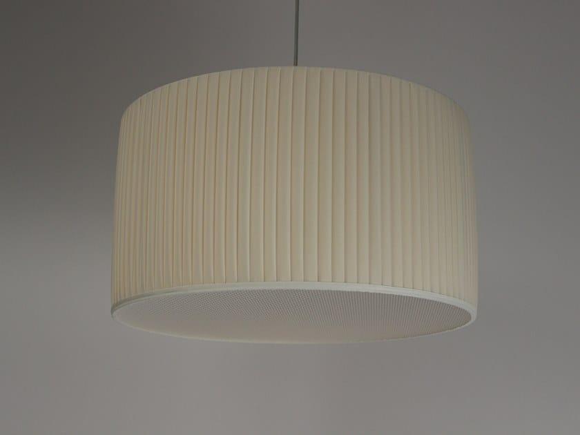 Pleated fabric lampshade M011 | Lampshade by Ipsilon PARALUMI
