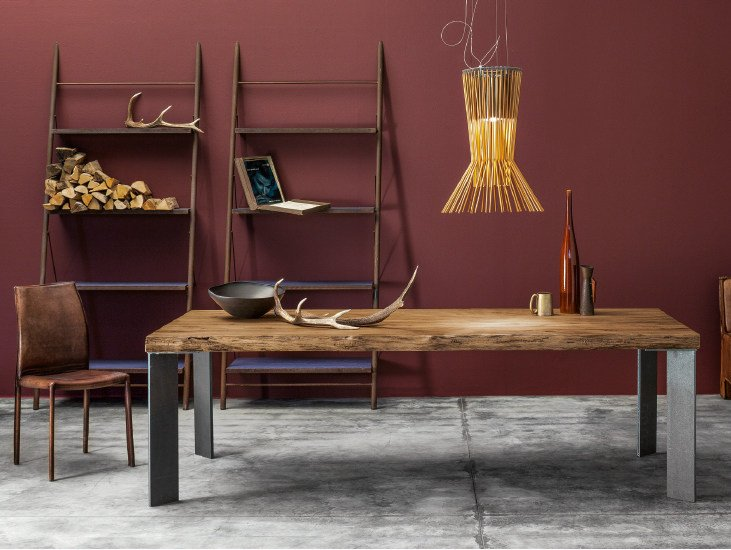 MASTER | Solid wood table M 15 Collection By Devina Nais