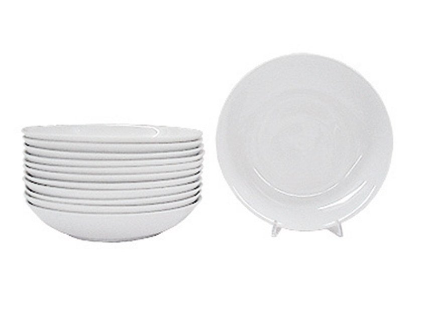 Ceramic plates set M18 | Deep plate by Adriani e Rossi edizioni