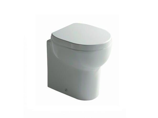 Ceramic toilet M2 45 | Toilet by GALASSIA