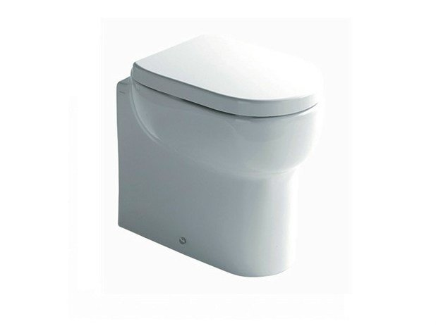 Ceramic toilet M2 48 | Toilet by GALASSIA