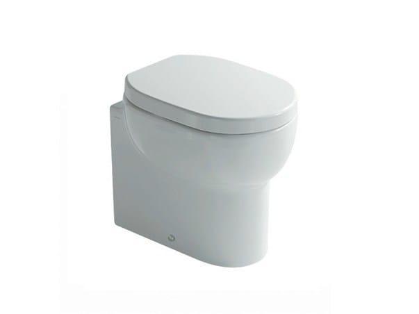 Ceramic toilet M2 50 | Toilet by GALASSIA