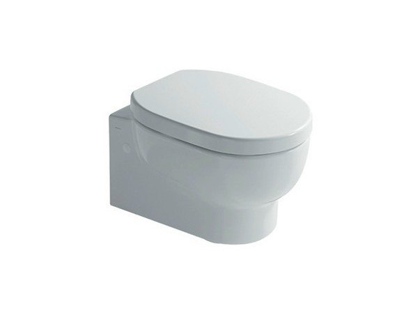 Wall-hung ceramic toilet M2 50 | Wall-hung toilet by GALASSIA