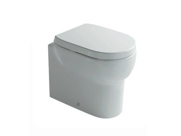 WC en céramique M2 55 | WC by GALASSIA