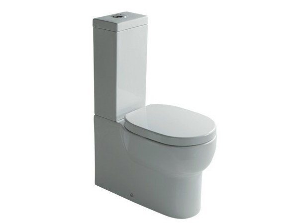 Close coupled ceramic toilet M2 65   Close coupled toilet by GALASSIA