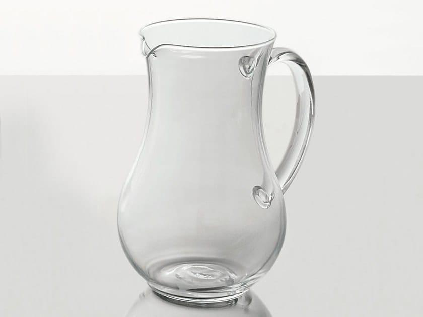 Glass jug M23 | Jug by Adriani e Rossi edizioni