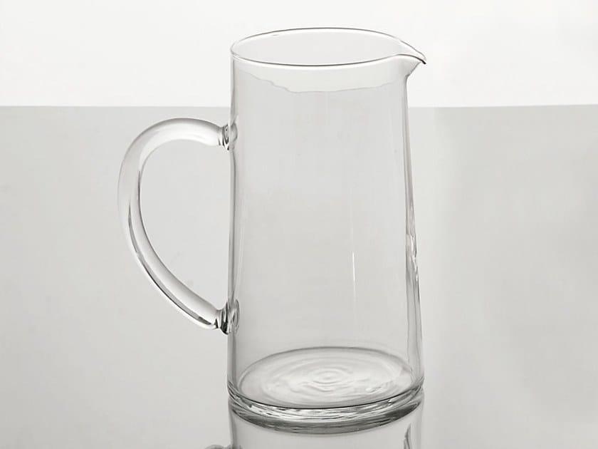 Glass jug M86 | Jug by Adriani e Rossi edizioni