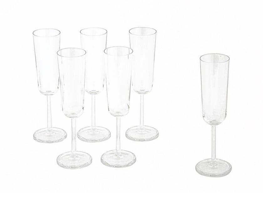 Glass champagne glass M90   Champagne glass by Adriani e Rossi edizioni