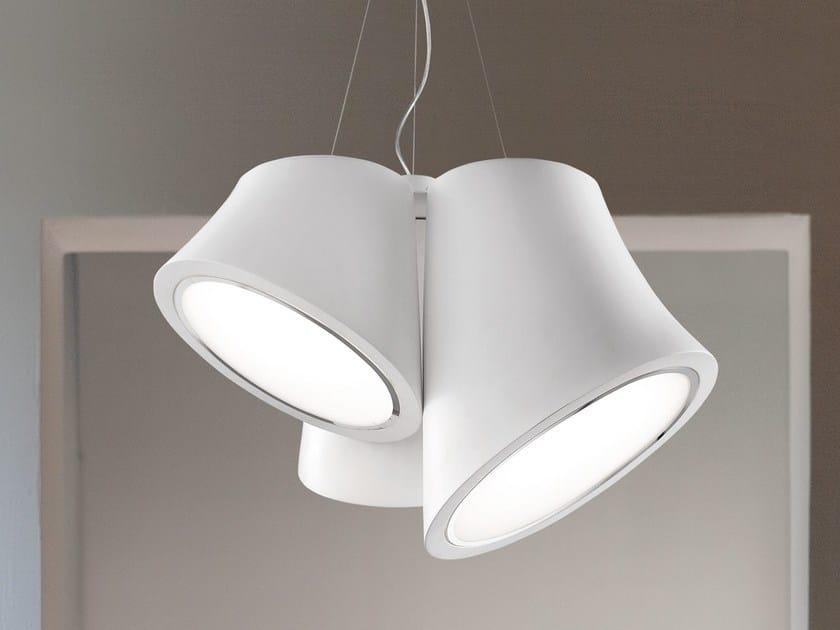 Lampada a sospensione a LED a luce diretta in poliuretano espanso MABELL | Lampada a sospensione by Masiero