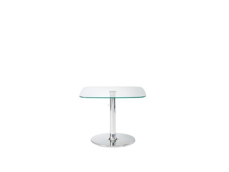 Square glass coffee table MACAO | Glass coffee table by Wiesner-Hager