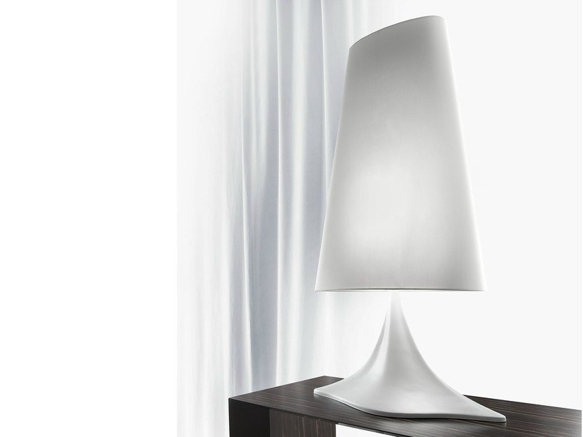 Fabric table lamp MACCHIA by ERBA ITALIA
