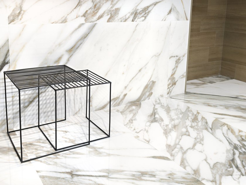 Wall/floor tiles with marble effect MACCHIA VECCHIA 4D by Museum