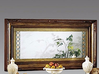 Wall-mounted framed mirror MACCHIAVELLI | Mirror by Arvestyle