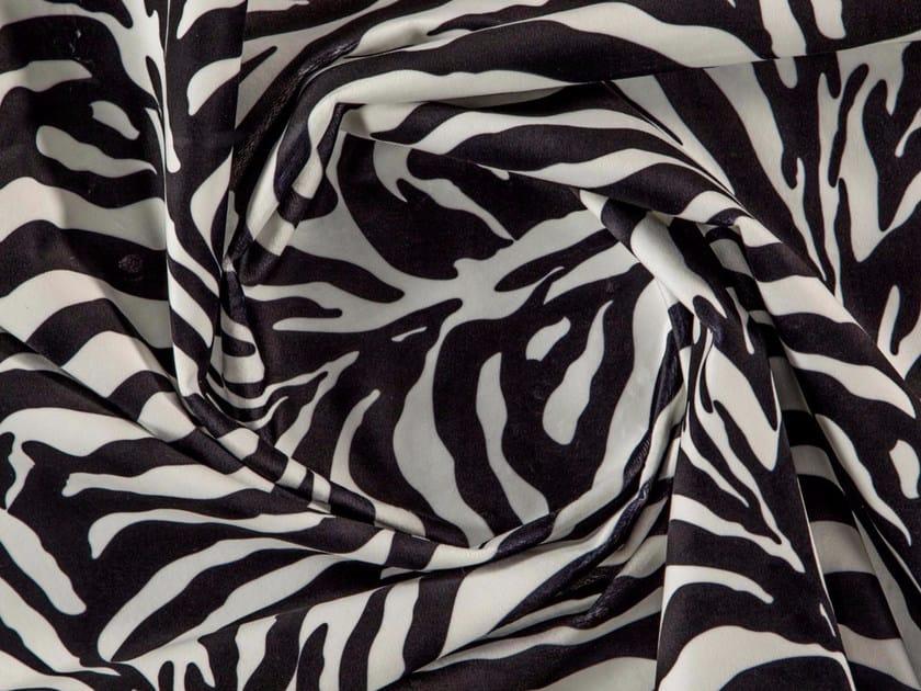 Animalier washable printed polyester fabric MADAGASCAR by More Fabrics