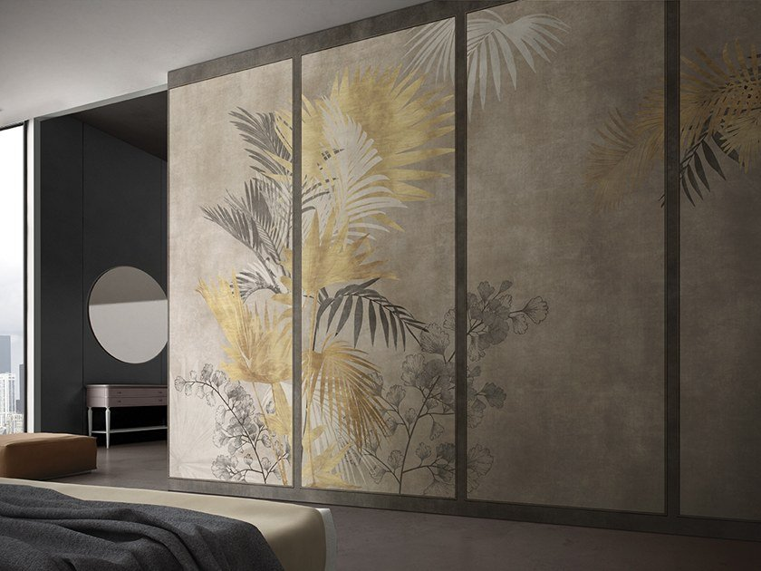 Tropical wallpaper MADAMA BUTTERFLY by GLAMORA