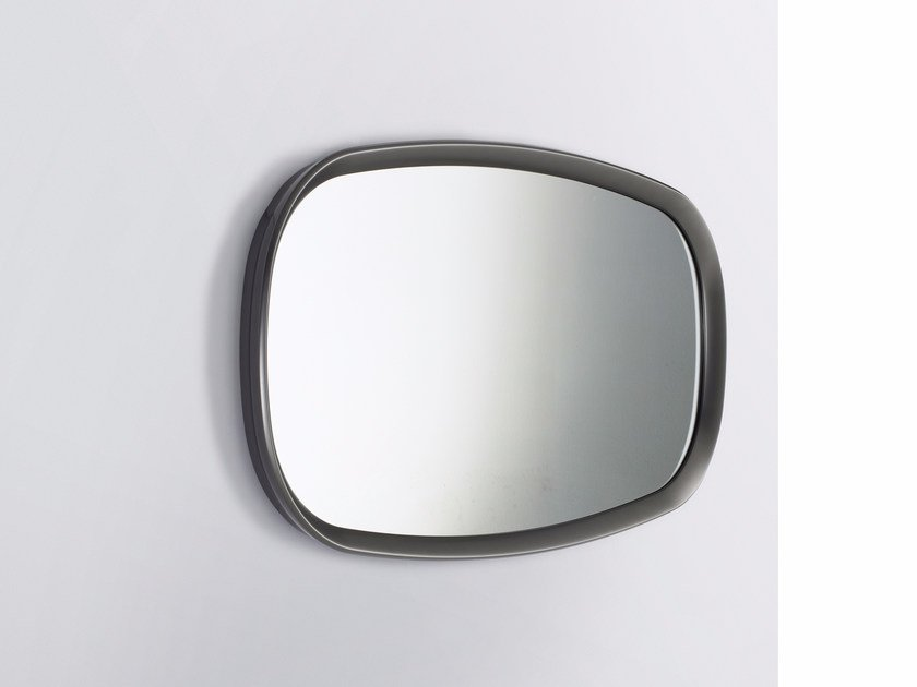 Rectangular wall-mounted framed mirror MADISON by B&B Italia