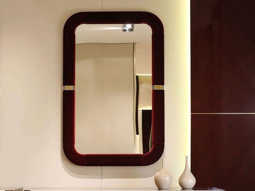 Rectangular wall-mounted framed mirror MADISON   Mirror by Turri
