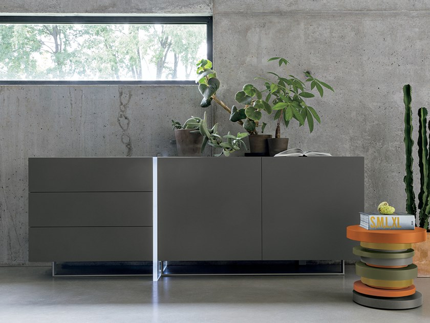 Lacquered sideboard MADISON by Gruppo Tomasella