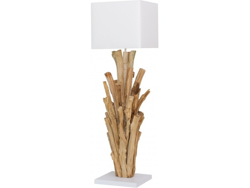 Wooden table lamp MADRAS by Flam & Luce