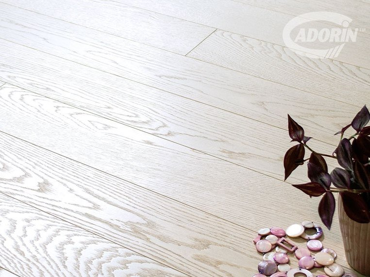 3 layers oak parquet WHITE GOLD DUST AND MOTHER OF PEARL by CADORIN GROUP