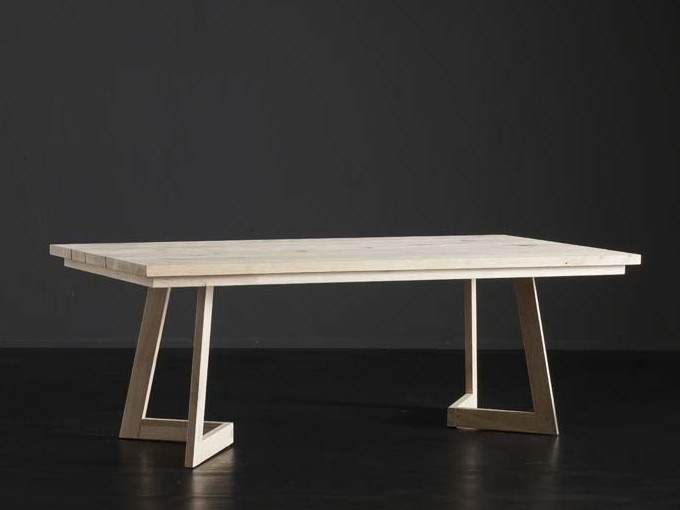Rectangular wooden dining table MADRID + SEVEN by AltaCorte