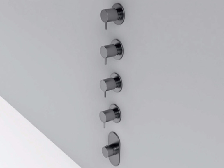 5 hole stainless steel shower tap MAE | 5 hole shower tap by Rexa Design