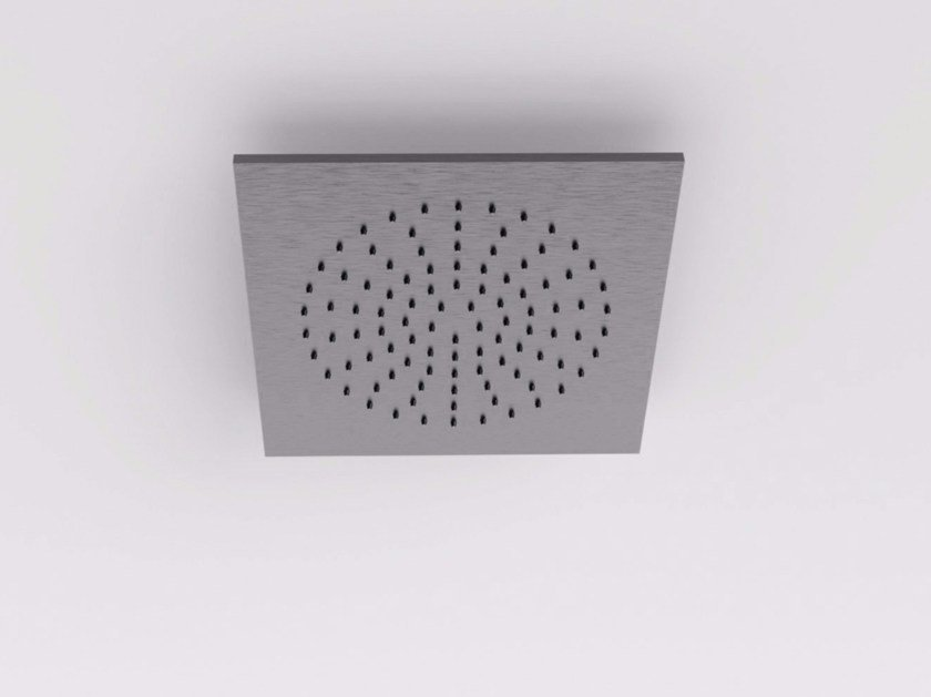 Ceiling mounted built-in stainless steel overhead shower MAE | Overhead shower by Rexa Design