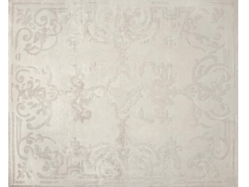 Handmade rectangular rug MAGELLAN VINTAGE IVOIRE by EDITION BOUGAINVILLE