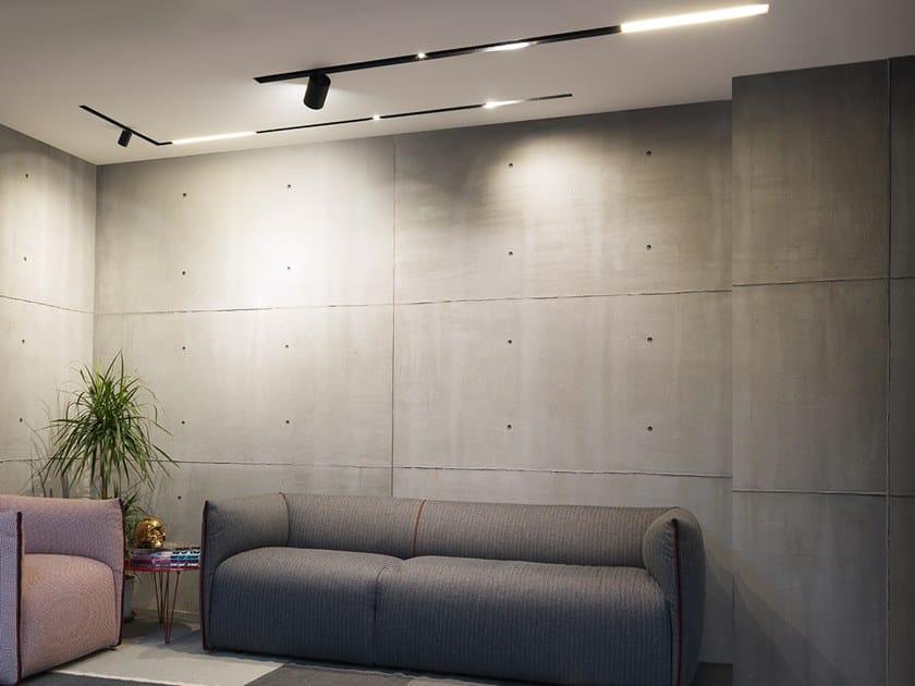 Illuminazione a binario a LED in metallo MAGGY 36 by Flexalighting