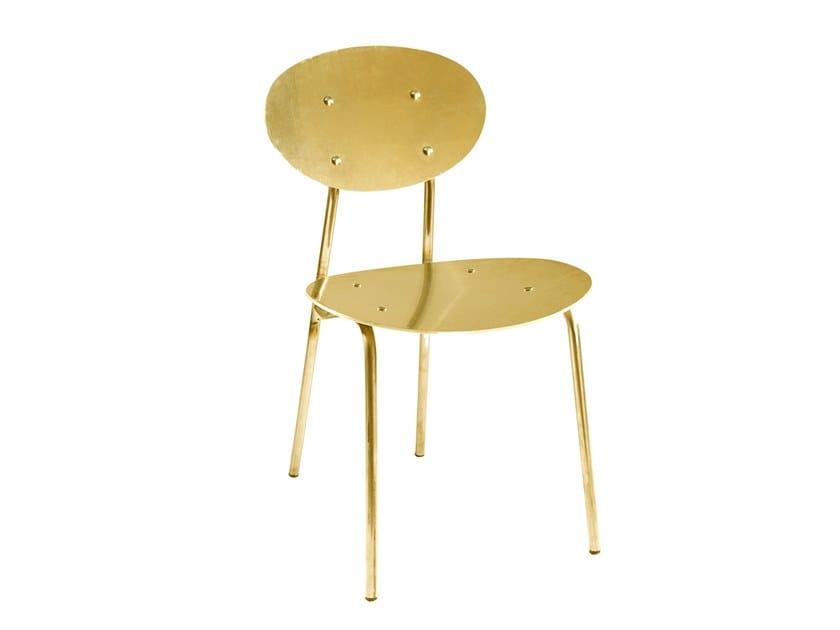 Aluminium restaurant chair MAGIC   Aluminium chair by Vela Arredamenti