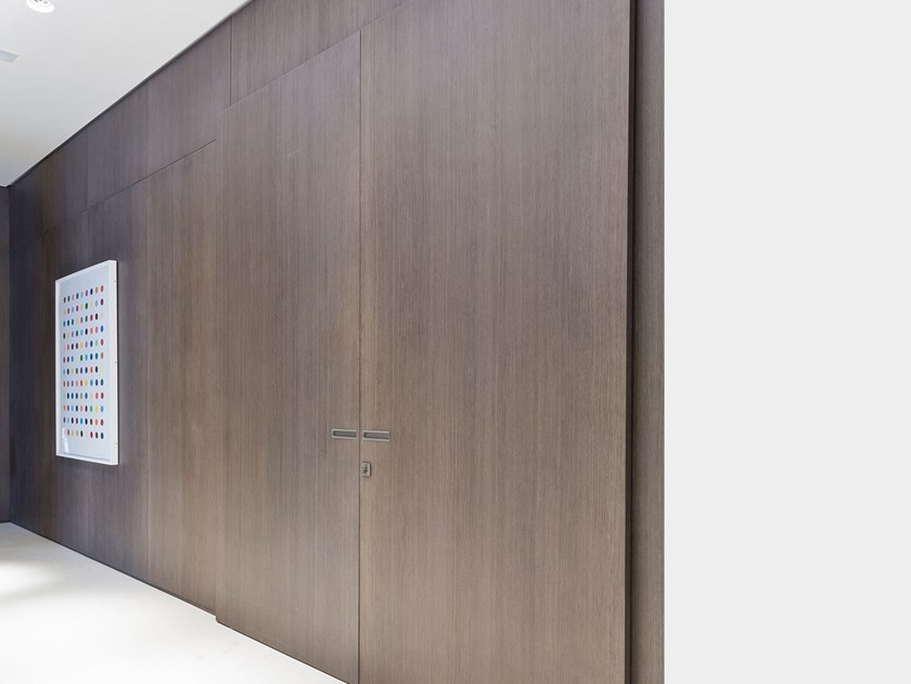 Hinged wooden door MAGIC by Ornare