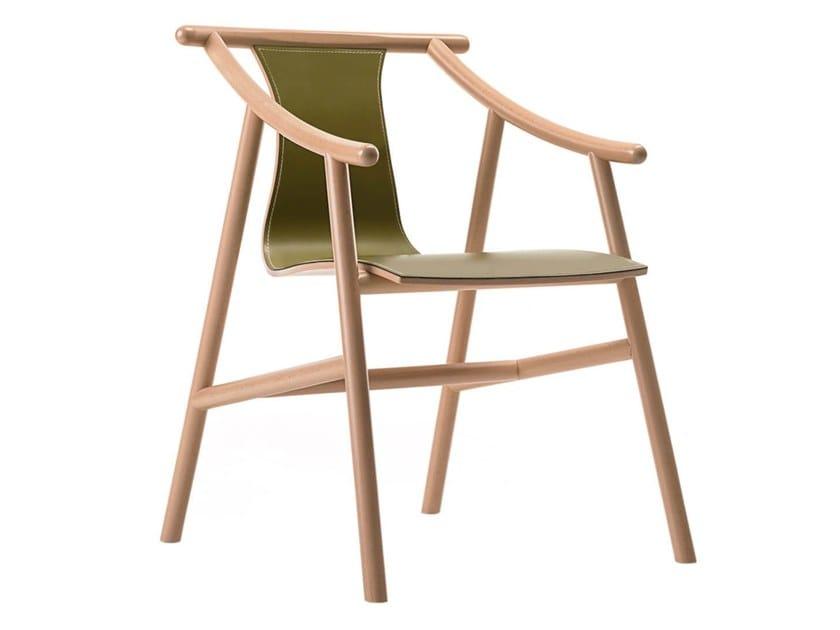 MAGISTRETTI 03 01   Leather chair