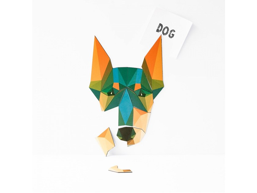 Magnet MAGNETIC PUZZLE DOG by Groovy Magnets