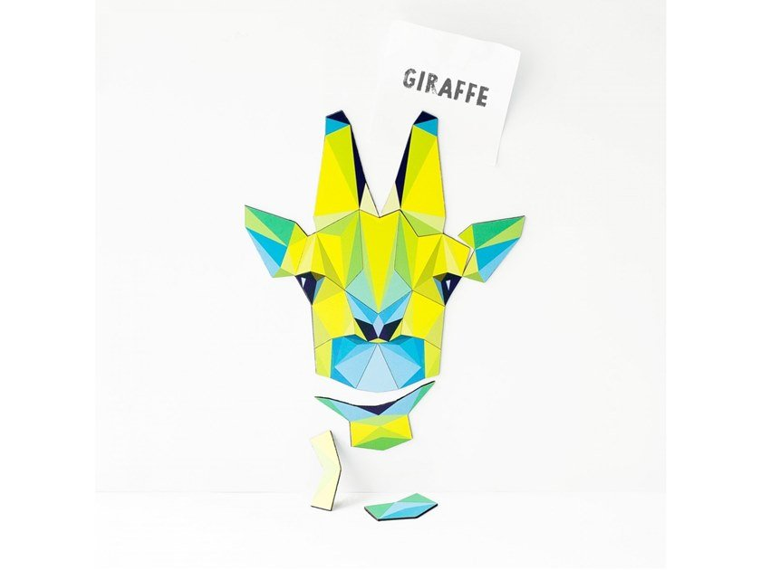 Magnet MAGNETIC PUZZLE GIRAFFE by Groovy Magnets